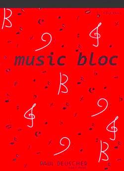 Bloc Papier Musique A4 Papeterie Musicale Papier laflutedepan