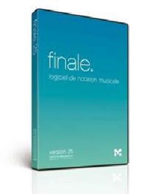 Logiciel FINALE 25 - FINALE 25 - Accessoire - laflutedepan.com
