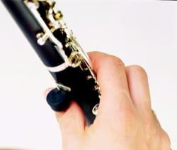 Support de pouce pour clarinette et hautbois laflutedepan