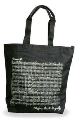 Cadeaux - Musique - Einkaufstasche - SCHWARZ - MOZART - Accessoire - di-arezzo.de