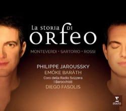 La storia di Orfeo : MONTERDI, SARTOTIO, ROSSI - laflutedepan.com