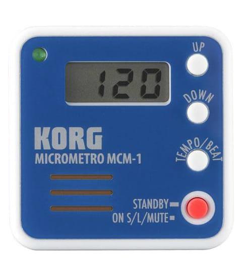 Métronome KORG - MCM-1BL - Métronome Electronique - laflutedepan.com