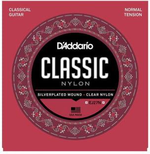 Cordes pour Guitare Classique - ADDARIO CLASSIC NYLON String Set - NORMAL tie - Accessoire - di-arezzo.com