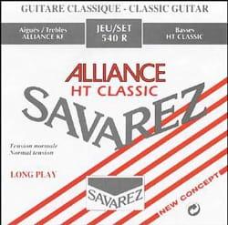 Cordes pour Guitare Classique - JEU de Cordes pour Guitare SAVAREZ ALLIANCE ROUGE tirant standard - Accessoire - di-arezzo.ch