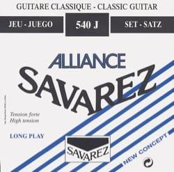 Cordes pour Guitare Classique - ギター用の弦のセットSAVAREZ ALLIANCE BLUE強く引っ張る - Accessoire - di-arezzo.jp