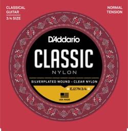 Cordes pour Guitare Classique - ADDARIO CLASSIC NYLON 3/4 String Set - Tie NORMAL - Accessoire - di-arezzo.com