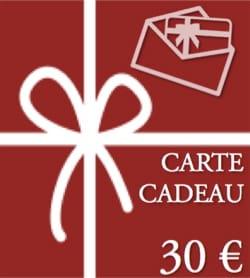 BON CADEAU - CARTE CADEAU - Valeur de 30 € BON CADEAU laflutedepan