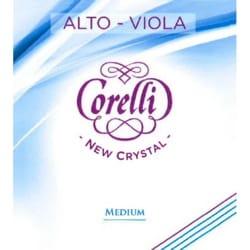 Corde de sol pour alto Corelli Crystal tirant medium laflutedepan