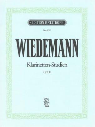 Klarinetten-Studien, Bd II Ludwig Wiedemann Partition laflutedepan