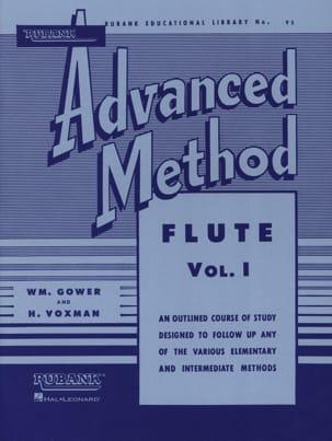Advanced Method Volume 1 - Flute Gower W. / M.Voxman H. laflutedepan