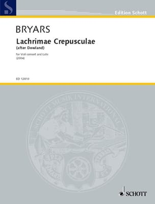 Lachrimae Crepusculae - Viole consort and lute laflutedepan
