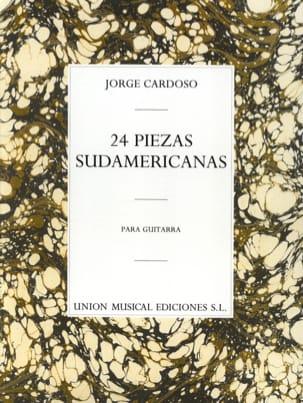 24 Pièces Sud-Américaines Jorge Cardoso Partition laflutedepan