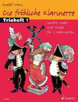 Die Fröhliche Klarinette - Trioheft 1 Rudolf Mauz laflutedepan