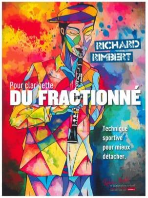 Richard Rimbert - Du Fractionné - Clarinette - Partition - di-arezzo.fr