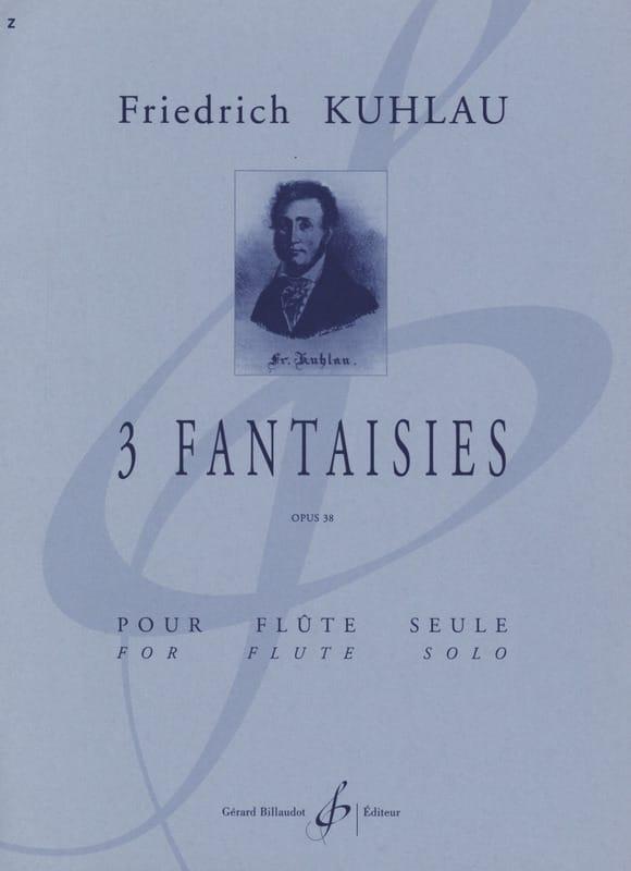 3 Fantaisies op. 38 - Flûte solo - Friedrich Kuhlau - laflutedepan.com