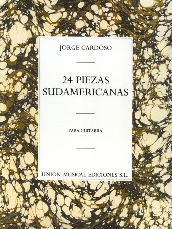 24 Pièces Sud-Américaines - Jorge Cardoso - laflutedepan.com