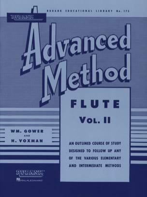 Advanced Method Volume 2 - Flute Gower W. / M.Voxman H. laflutedepan