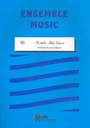 Rondo alla turca -Ensemble MOZART Partition ENSEMBLES - laflutedepan