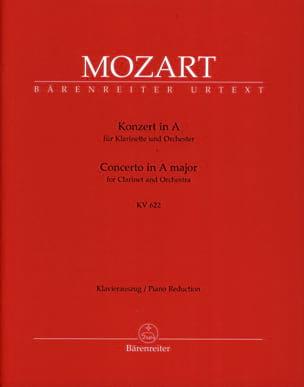 Concerto pour clarinette en La majeur K 622 - version pour clarinette en La laflutedepan