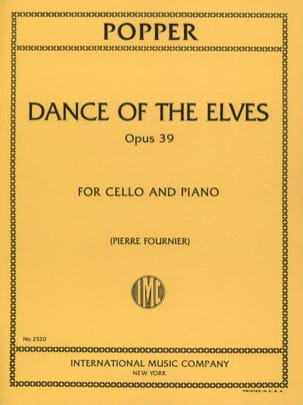 Dance of the Elves op. 39 David Popper Partition laflutedepan