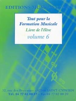 Tout pour la formation musicale Volume 6 Partition laflutedepan