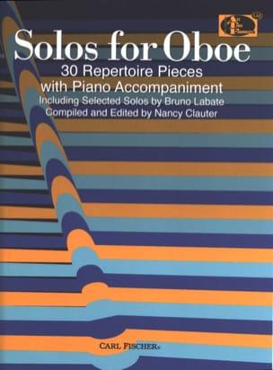 Solos for Oboe Partition Hautbois - laflutedepan