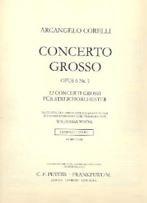 Concerto Grosso op. 6 n° 1 -Score - CORELLI - laflutedepan.com