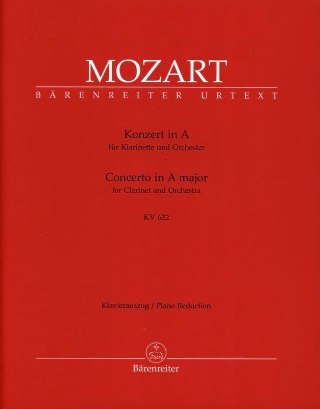 Concerto pour clarinette en La majeur K 622 - version pour clarinette en La - laflutedepan.com