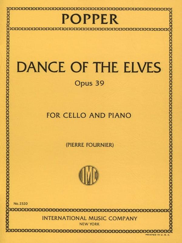Dance of the Elves op. 39 - David Popper - laflutedepan.com