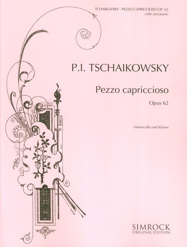 Pezzo Capriccioso op. 62 - TCHAIKOVSKY - Partition - laflutedepan.com