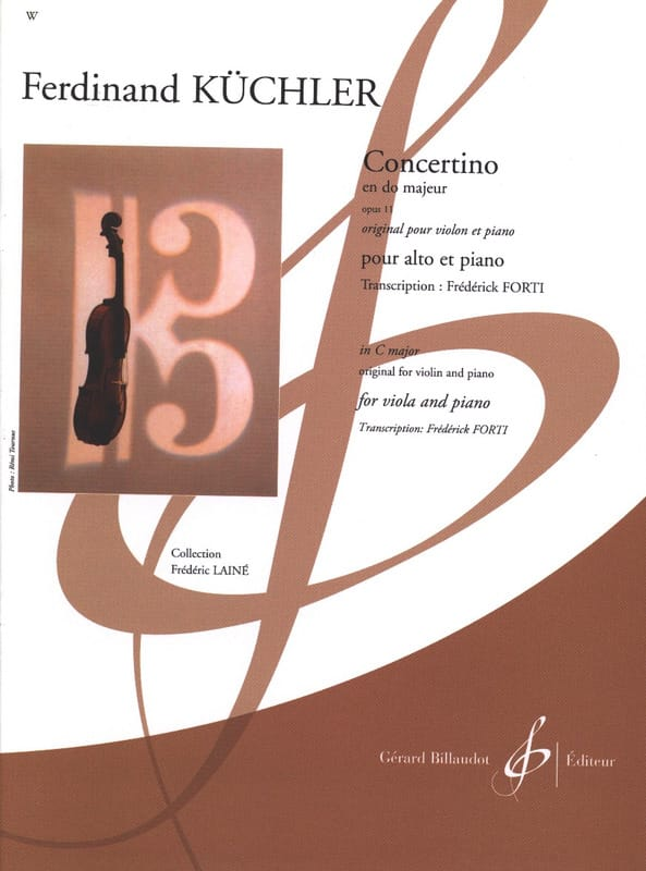 Concertino en Do Majeur, opus 11 - laflutedepan.com