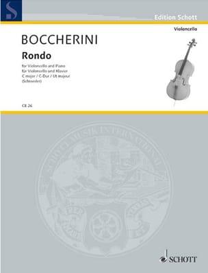 Rondo en do majeur BOCCHERINI Partition Violoncelle - laflutedepan
