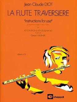 La flute traversière - album n° 1 Jean-Claude Diot laflutedepan