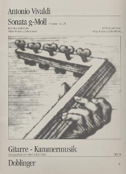 Sonata g-Moll op. 2/1 VIVALDI Partition 0 - laflutedepan