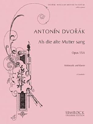 Songs my mother taught me op. 55 n° 4 - Cello DVORAK laflutedepan