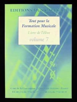 Tout pour la formation musicale Volume 7 Partition laflutedepan
