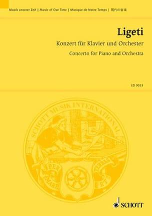 György Ligeti - Konzert für Klavier und orchester - driver - Partition - di-arezzo.co.uk