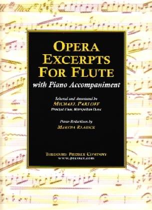 Opera excerpts for flûte - Michael Parloff - laflutedepan.com