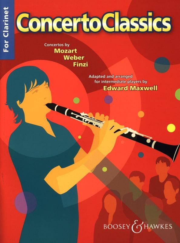 concerto classics for clarinet - Edward Maxwell - laflutedepan.com