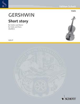 Short Story - Violin - GERSHWIN - Partition - laflutedepan.com