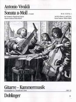 Sonata n° 3 a-Moll VIVALDI Partition 0 - laflutedepan