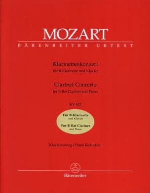 Concerto pour clarinette KV 622 - Version clarinette en Si bémol laflutedepan