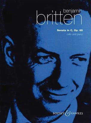 Sonata in C op. 65 BRITTEN Partition Violoncelle - laflutedepan