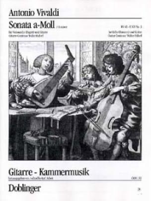 Sonata n° 3 a-Moll - VIVALDI - Partition - 0 - laflutedepan.com