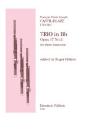 Trio op. 17 n° 3 - 3 Bassoons - laflutedepan.com