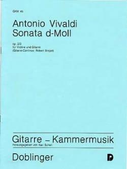 Sonate d-Moll op. 2/3 - Violine Gitarre VIVALDI Partition laflutedepan