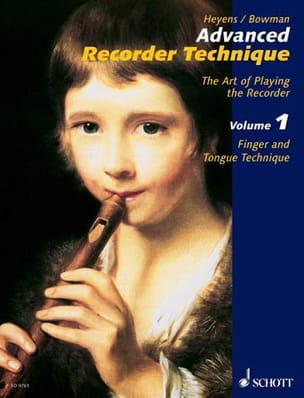 Advanced Recorder Technique - Volume 1 laflutedepan