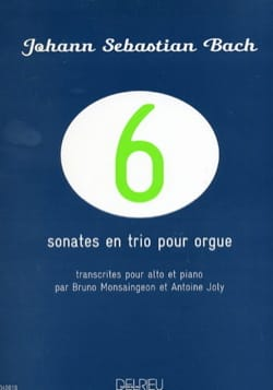 6 Sonates en Trio pour Orgue - BWV 525-530 BACH Partition laflutedepan