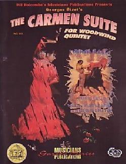 Carmen Suite - Woodwind quintet BIZET Partition laflutedepan