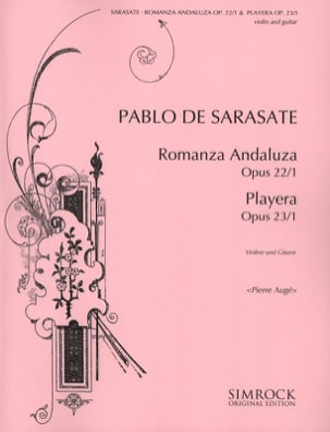 Romanza andaluza / Playera - Violine Gitarre SARASATE laflutedepan